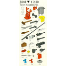 LEGO Town Accessories Set 5048