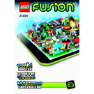 LEGO Town Master Set 21204 Instructions