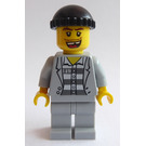 LEGO Town Prisoner With 49 On Stripped Top Minifigure