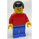 LEGO Town with Red Torso Minifigure