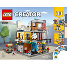 LEGO Townhouse Pet Shop & Café Set 31097 Instructions