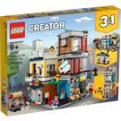 LEGO Townhouse Pet Shop & Café Set 31097 Packaging
