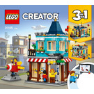 LEGO Townhouse Toy Store Set 31105 Instructions