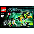 LEGO Toxikita's Toxic Meltdown Set 70163 Instructions