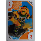 LEGO Toys R Us trading card - 12 - Nexo Knights - Aaron