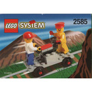 LEGO Track Buggy with Station Master and Brickster Set 2585