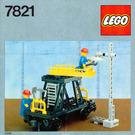 LEGO Track & Lighting Maintenance Wagon Set 7821