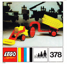LEGO Tractor Set 378 Instructions