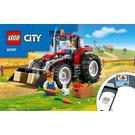 LEGO Tractor Set 60287 Instructions