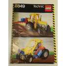 LEGO Tractor Set 8849 Instructions