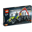 LEGO Tractor with Log Loader Set 8049 Packaging