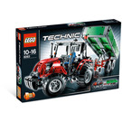 LEGO Tractor with Trailer Set 8063 Packaging