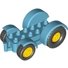 LEGO Tractor with Yellow Wheels (15320 / 24912)