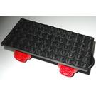 LEGO Train Base 6 x 12 Type I with Wheels