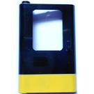 LEGO Train Door 1 x 4 x 5 Left with Yellow Stripe (4181)