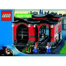 LEGO Train Engine Shed Set 10027 Instructions