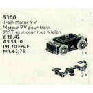 LEGO Train Motor 9V Set 5300