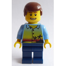 LEGO Train Passenger male 7938 Minifigure