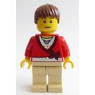 LEGO Train Passenger with Sweater Minifigure