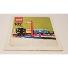 LEGO Train Set with Motor 182 Instructions