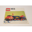 LEGO Train Set with Motor and Signal 183 Instructions