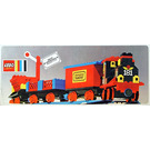 LEGO Train Set with Motor, Signals and Shunting Switch 181