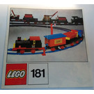 LEGO Train Set with Motor, Signals and Shunting Switch 181 Instructions