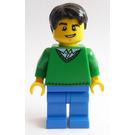 LEGO Train Station Male Passenger Minifigure