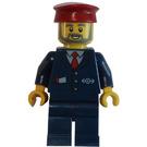 LEGO Train Ticket Inspector Minifigure