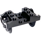 LEGO Train Wheel Holder with Wheels (RC) (2878)