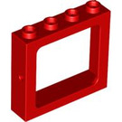 LEGO Train Window 1 x 4 x 3 Recessed Studs (4033)
