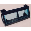 LEGO Train Windscreen 2 x 6 x 2 with Transparent Light Blue Glass (6567)