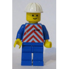 LEGO Train Worker with Red Stripes Minifigure