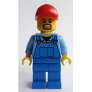 LEGO Training Jet Transporter Truck Driver Minifigure