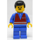 LEGO Trains Male with Moustached Minifigure