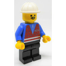 LEGO Trains Worker with Red Vest and Moustache Minifigure