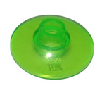 LEGO Transparent Bright Green Dish 2 x 2 Inverted (30063 / 35395)