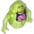 LEGO Transparent Bright Green Slimer Minifigure