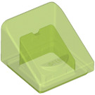 LEGO Transparent Bright Green Slope 31° 1 x 1 (35338 / 50746)