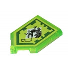 LEGO Tile 2 x 3 Pentagonal with Mechanical Griffin Power Shield (22385 / 35339)