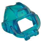 LEGO Transparent Dark Blue Frogman Visor (6090)
