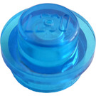 LEGO Transparent Dark Blue Plate 1 x 1 Round (30057 / 34823)
