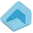 LEGO Transparent Dark Blue Slope 1 x 1 (31°) (35338 / 50746)