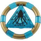 LEGO Transparent Dark Blue Treasure Ring (89161)