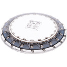 LEGO Transparent Dish 10 x 10 Inverted with General Grievous Crawler Hollow Studs
