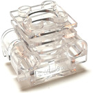 LEGO Transparent Engine Cylinder with Slots in Side (32061)