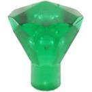 LEGO Transparent Green Diamond (28556 / 30153)