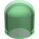 LEGO Transparent Green Light Bulb Cover (4770)