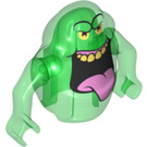 LEGO Transparent Green Slimer Minifigure