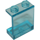 LEGO Transparent Light Blue Panel 1 x 2 x 2 without Side Supports, Hollow Studs (4864 / 6268)